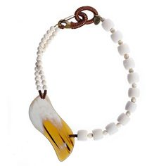 Necklace  |  Corals, howlite & bone  #necklace #stones #corals #howlite #bone Silver Necklaces, Silver Earrings, Beaded Necklace, Corals, Jasper, Bones, January, Handmade Jewelry, White Gold