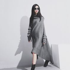 Warm and loose comfortable fit for Autumn nights and days. This can be a stand alone or for colder winters comfortable wear over a pair of leggings and over the knee boots.   #shopping #charities #littleblackdress #womensfashion #holidayfashion #sexygirls #fashionstyle #followformore