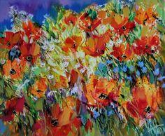 jpg - Painting, cm by Sergey Yatnov - Contemporary painting, Canvas, Flower Canvas Frame, Oil On Canvas, Painting Canvas, Contemporary Paintings, Flower Art, Original Art, Art Gallery, Fine Art, Artwork