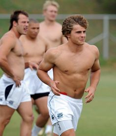 """Patrick """"Pat"""" Lambie is a South African rugby union player who plays for the Natal Sharks in the Currie Cup and Super Rugby. Rugby Rules, South African Rugby, Hot Rugby Players, International Rugby, Super Rugby, Summertime Sadness, Dream Guy, Gorgeous Men, Trending Memes"""
