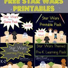 FREE Star Wars Printables