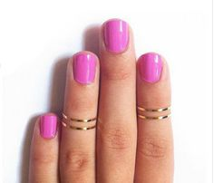 I have loved Gold Midi Rings for many years, my 'unique' stamp ... now they are 'in style' ;-)