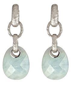 Andara Aquamarine Dangling Earrings