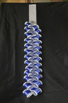 Loop Dazzle Garter or Mum Length Homecoming Mums Senior, Football Homecoming, Homecoming Garter, Homecoming Corsage, Ribbon Lei, Ribbon Work, Ribbon Crafts, Ribbons, Diy Crafts