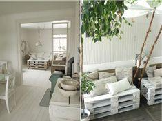 Soluzioni d\'arredo LOW COST&DIY | Recycled | Pinterest | Pallets