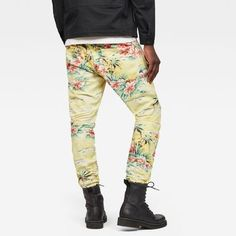 now on eboutic.ch - tapered multicolored pants for men Blue Jeans, Denim Jeans, G Star Raw, Capri Pants, Sweatpants, Guys, Shorts, Jackets, Fashion