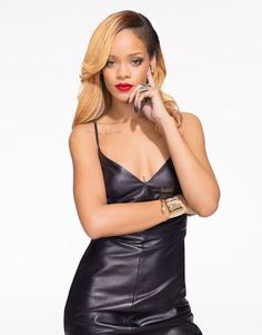 Rihanna's official Styled to Rock photo
