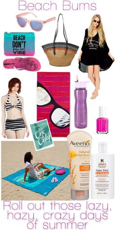 Beach Bums: What to pack for fun in the sun