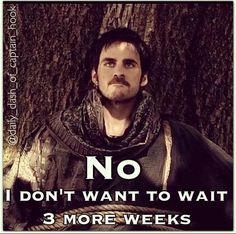 I don't wont to wait 3 weeks :( #OnceUponATime #Hook