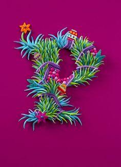 Image result for 3d letter sculpture