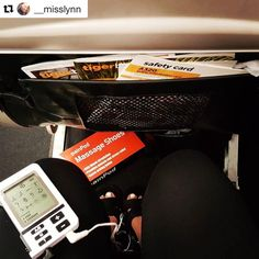 #PainPod legend #Repost time! Thanks @__misslynn 👍 PsinPod portability is especially suitable for use on planes after take off ✈️ ・・・ Perfect way to end a big 6 days of expos!! #portablefootmassage #massageontheplane!💆 😍✈ #i❤myPainPod