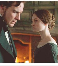 Jane Eyre. Again. The perfect casting is perfect. I really feel that I am looking at Jane and Rochester.