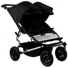 bd6ab41d590 Mountain Buggy 2012 Duet Double Stroller Black Great condition with rain  cover