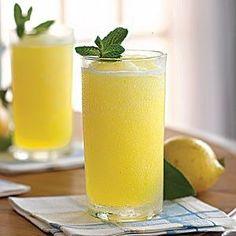 Frozen Vodka Lemon Slush..