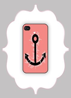 iPhone Case Anchor Quote  iPhone 4/4s iPhone 5 Case by CalisCases, $16.99