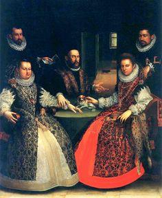 It's About Time: 1500s Woman Artist - Lavinia Fontana 1552-1614, Portrait of the Gozzadini Family, 1584