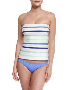 KATE SPADE Plage Du Midi Classic Swim Bottom, Adventure Blue. #katespade #cloth #
