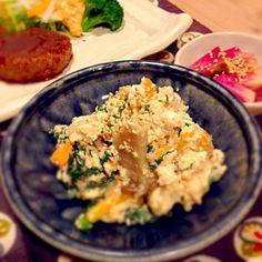 里芋煮に飽きたら どうでしょうか? しっとりして、食べ応えのある白和えです。 - 41件のもぐもぐ - 里芋と春菊の白和え by Miwako Tomizawa