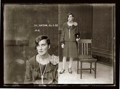 Drug dealers, backstreet abortionists and a deadly femme fatale: Fascinating mugshots of women prisoners from Australia women in history Twiggy, John Gall, City Of Shadows, Victoria Beckham, Divas, Photo Vintage, Portraits, Roaring Twenties, Museum Collection