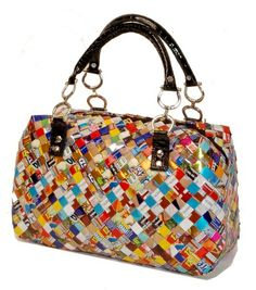How To Recycle Elegant Gift For Christmas Recycled Candy Wrer Handbags And Purse