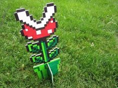 i want to have a nintendo themed cookout and make these for the yard.