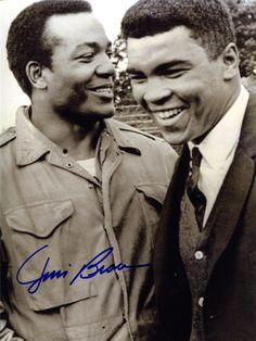 Jim Brown & Ali…Kings among men Two of the greatest!http://goo.gl/FMlYFI