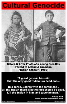 """The American Indian Holocaust, known as the year war"""" and the """"World's Longest Holocaust In The History Of Mankind And Loss Of Human Lives."""" Genocide and Denying It: Why We Are Not Taught that. I hope that general met the hell he held such belief in. Canadian History, Native American History, Native American Indians, Native Indian, Cree Indians, Indian Boy, Indian Tribes, History For Kids, World History"""