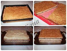 diana's cakes love: Prajitura Ramona- foi, nuca si crema de vanilie
