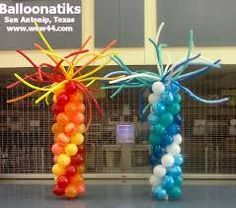 Image result for fire and ice balloon decor