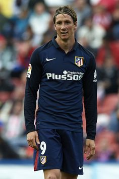 Fernando Torres of Atletico de Madrid looks on during the La Liga match between Levante UD and Atletico de Madrid at Ciutat de Valencia on May 8, 2016 in Valencia, Spain.
