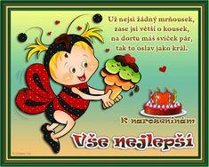 026 dětská přáníčka k narozeninám