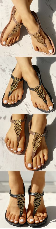 d3cd2ae1f 4103 Best Ladies Flat Sandals. images in 2019