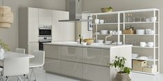 VOXTORP ladefront | IKEA IKEAnl IKEAnederland keuken inspiratie wooninspiratie interieur wooninterieur koken eten diner kast keukenkast kasten keukenkasten modern stijlvol METOD serie opberger opbergen