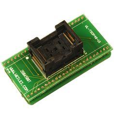 Adapter #TSOP 48 z podstawką #zif. Obsługuje takie układy jak : 27c010, 27c256