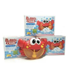 Kids Baby Cute Cartoon Toys Crab Automatic Bubble Maker Lightly Machine Outdoor Blowing Soap Bubbles Fun Play Toys 2019 Toys & Hobbies