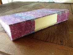 Encadernação Artesanal- Caderno Longstitch