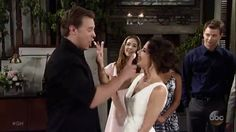 Billy Miller&Kelly Monaco@Jasam wedding@GH@9/2/16