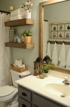 5 Blindsiding Cool Ideas: Bathroom Remodel Before And After Drawers master bathroom remodel with window.Master Bathroom Remodel With Window bathroom remodel wainscotting projects.Tiny Bathroom Remodel On A Budget. Guest Bathroom Remodel, Shower Remodel, Bathroom Renovations, Modern Bathroom, Master Bathroom, Bathroom Ideas, Basement Bathroom, Bathroom Hacks, Bathroom Makeovers