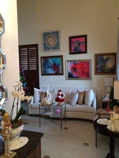 Traditional Living Room By Tamara Mack Design