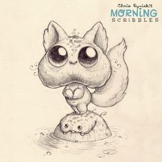 Water taxi. #morningscribbles
