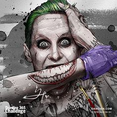 """Oh, I'm not going to kill you, I'm just gonna hurt you, really, really, bad!""- Jared Leto's Joker Day 82"