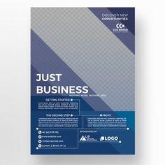 Blue corporate flyer template Template Business Flyer Templates, Flyer Design Templates, Free Brochure, Brochure Template, Corporate Brochure, Business Brochure, Brosure Design, Start Logo, Modele Flyer