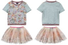 @Paul Smith  Junior Spring Summer 2014, sweatshirt with tulle skirt #pink #paulsmithjunior #childrens #kids #childrenswear #kidswear #kidsfashion #girls #boys