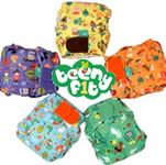 Tots Bots Teenyfit Every Nappy Tells a Story 5 Nappies 5-14lbs