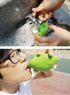 Leaf Shaped Silicone Pocket Cup!