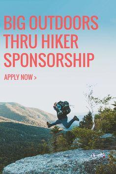 Planning a Thru Hike? Apply for the @bigoutdoorsgear thru hiker sponsorship. 2017 deadline January 23rd.   Pacific Crest Trail, Appalachian Trail, Continental Divide Trail