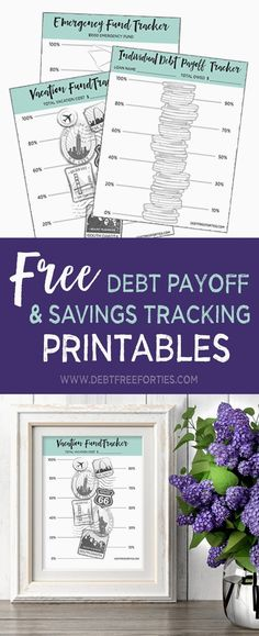 Use these free debt repayment printables to track your repayment progress and help you stay motivated! Debt Repayment, Debt Payoff, Debt Consolidation, Braided Hairstyles Updo, Dave Ramsey, Budgeting Finances, Budgeting Tips, Debt Tracker, Saving Tracker