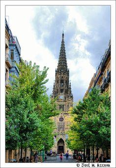 San Sebastián - Donostia. Catedral del Buen Pastor.   Spain