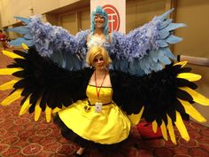 Articuno and Zapdos Cosplay by Kerorarin