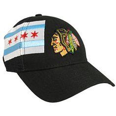 Get this Chicago Blackhawks Chicago Flag Tech Snapback Adjustable Cap at WrigleyvilleSports.com